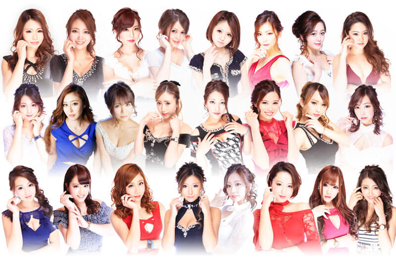中洲のキャバクラならリオグループ キャスト画像